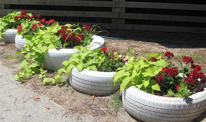 turn-tires-into-container-garden